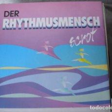 Discos de vinilo: SCROT DER RHYTHMUSMENSCH . Lote 147384066