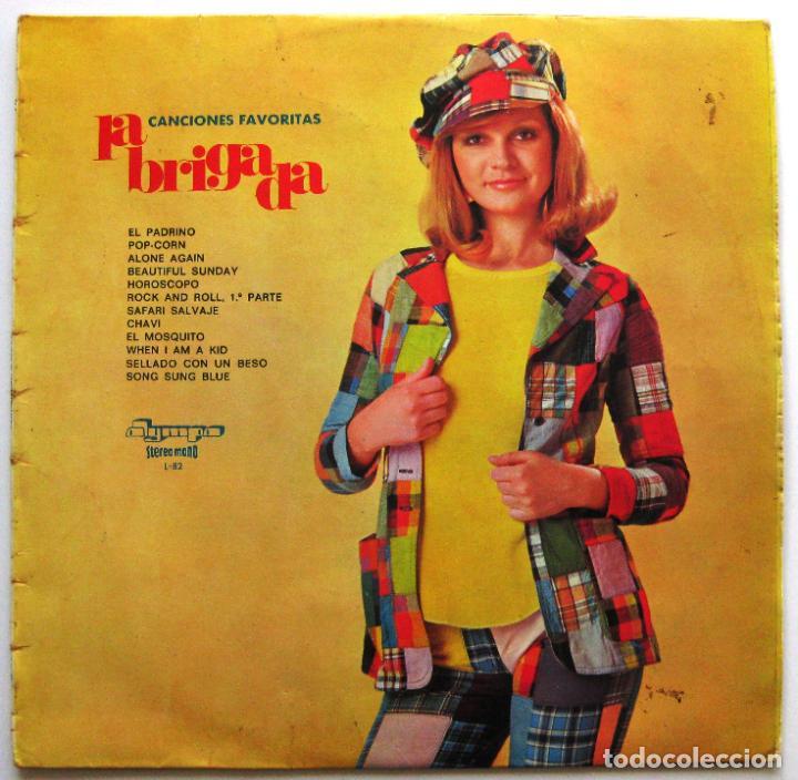 LA BRIGADA - CANCIONES FAVORITAS - LP OLYMPO 1974 BPY (Música - Discos - LP Vinilo - Grupos Españoles de los 70 y 80)