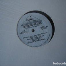 Discos de vinilo: SEVENTH HEAVEN DRUMS OF LOVE . Lote 147386910