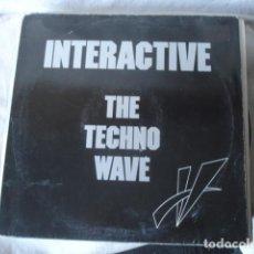 Discos de vinilo: INTERACTIVE THE TECHNO WAVE . Lote 147388730