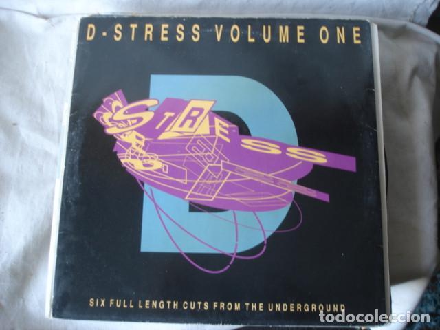D-STRESS VOLUME ONE (Música - Discos - LP Vinilo - Techno, Trance y House)