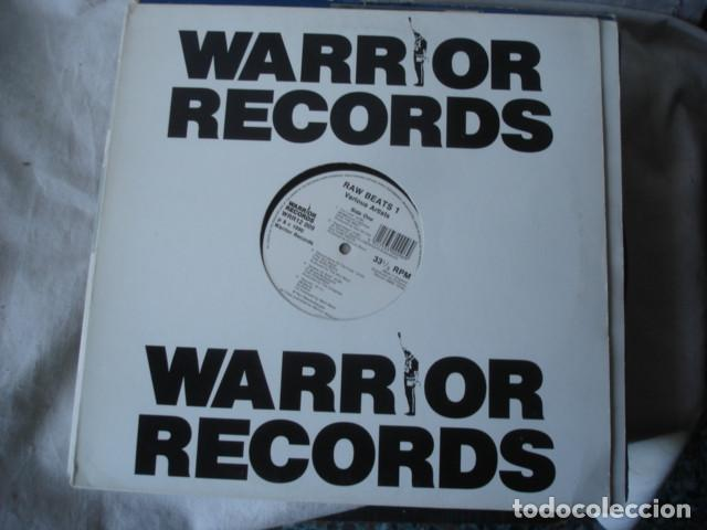 RAW BEATS 1 (Música - Discos - LP Vinilo - Techno, Trance y House)