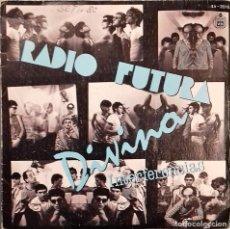 Disques de vinyle: RADIO FUTURA - DIVINA / INTERFERENCIAS- SG. PROMO- ED. ESPAÑOLA- 1980. Lote 147390586