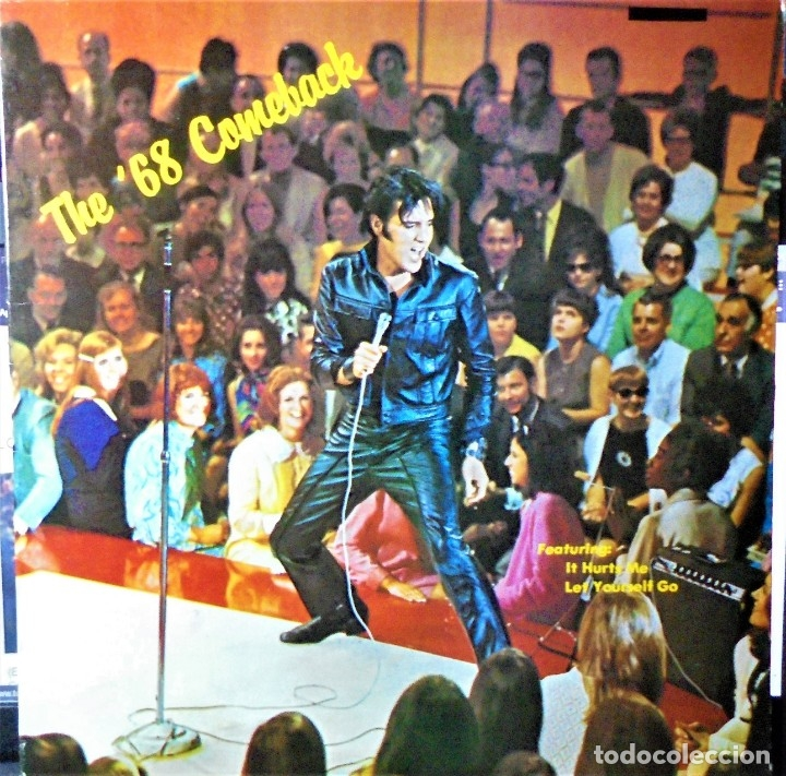 ELVIS PRESLEY - THE 68 COMEBACK - LP 1978 / USA / RARO (Música - Discos - LP Vinilo - Pop - Rock Extranjero de los 50 y 60)