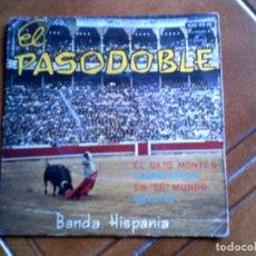 Discos de vinilo: DISCO EL PASODOBLE BANDA HISPANIA AÑO 1963. Lote 147394058