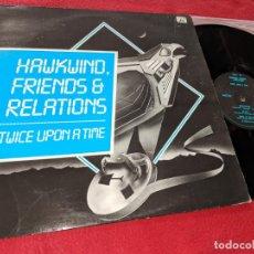 Discos de vinilo: HAWKWIND FRIENDS & RELATIONS LP 1983 FLICKNIFE UK EDICION INGLESA. Lote 147395214