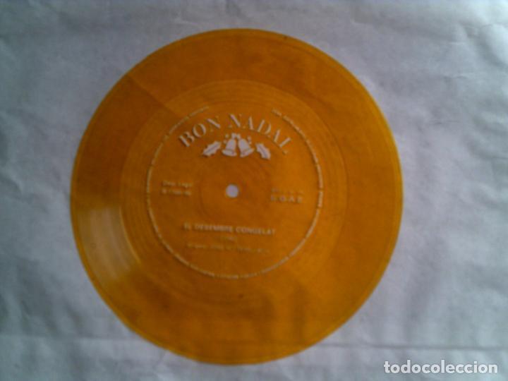 DISCO FLEX BON NADAL TEMA EL DESEMBRE CONGELAT EDICION EN COLOR (Música - Discos - Singles Vinilo - Otros estilos)