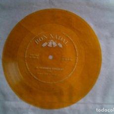 Discos de vinilo: DISCO FLEX BON NADAL TEMA EL DESEMBRE CONGELAT EDICION EN COLOR. Lote 147399134