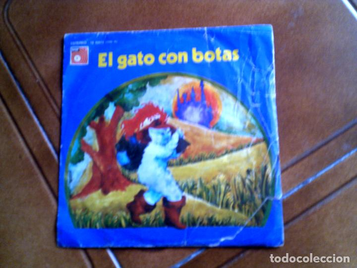 DISCO CUENTO EL GATO CON BOTAS (Música - Discos - Singles Vinilo - Música Infantil)