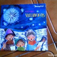 Discos de vinilo: DISCO NUESTROS VILLANCICOS AÑOS 60 TIENE 6 CANCIONES. Lote 147399630