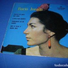 Discos de vinilo: ROCIO JURADO-TIENTOS DE MIRA QUE MIRA + A VER SI ME QUIERES + FANDANGOS DE MI CARIÑO + QUE LE PASA. Lote 147404706