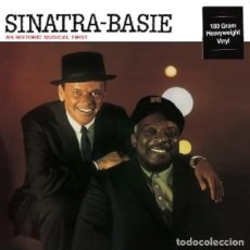 Discos de vinilo: FRANK SINATRA COUNT BASIE * LP HQ VIRGIN VINYL 180G *AN HISTORIC MUSICAL FIRST * LTD PRECINTADO!!. Lote 147413020