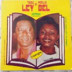 Discos de vinilo: TABU LEY Y MBILIA BEL. LOYENGHE. DOBLE LP FRANCIA. Lote 147420870