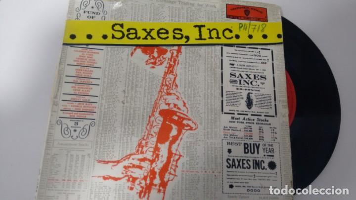 E P (VINILO9 DE SAXES INC. AÑOS 60 (Música - Discos de Vinilo - EPs - Jazz, Jazz-Rock, Blues y R&B)