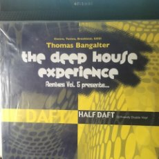 Discos de vinilo: THOMAS BANGALTER-THE DEEP HOUSE EXPERIENCE REMIXES VOL.5-2005-2 LP. Lote 147432954