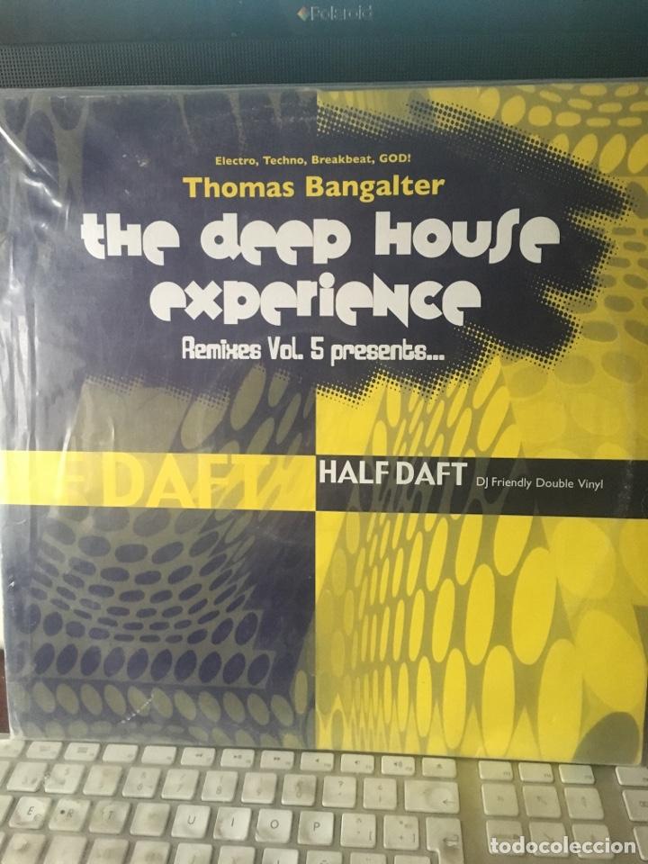 Discos de vinilo: THOMAS BANGALTER-THE DEEP HOUSE EXPERIENCE REMIXES VOL.5-2005-2 LP - Foto 2 - 147432954
