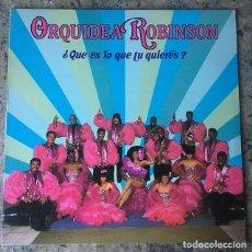 Discos de vinilo: ORQUESTA ROBINSON - QUE ES LO QUE TU QUIERES ? - LP . 1989 HI-FI DISCOS . Lote 147436522