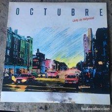 Discos de vinilo: OCTUBRE - LLUNY DE HOLLYWOOD . LP . SALSETA DISCOS 1988. Lote 201558163