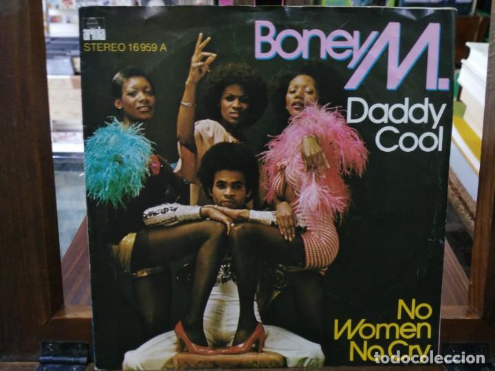 BONEY M. - DADDY COOL, NO WOMAN NO CRY - SINGLE DEL SELLO ARIOLA 1976 (Música - Discos - Singles Vinilo - Jazz, Jazz-Rock, Blues y R&B)