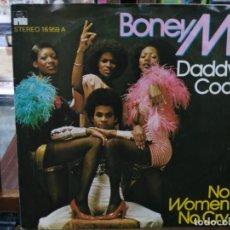 Discos de vinilo: BONEY M. - DADDY COOL, NO WOMAN NO CRY - SINGLE DEL SELLO ARIOLA 1976. Lote 147437566