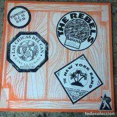Discos de vinilo: MOJATE CON MUCHA SALSA . MAXI SINGLE . 1990 . THE REBELS . LAS CHICAS DEL CAN . THE NEW YORK BAND . Lote 147438714