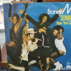 Discos de vinilo: BONEY M. - SUNNY, NEW RORK CITY -SINGLE DEL SELLO ARIOLA 1976. Lote 147438994