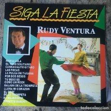 Discos de vinilo: RUDI VENTURA - SIGA LA FIESTA . LP . 1990 DIVUCSA . Lote 147439170