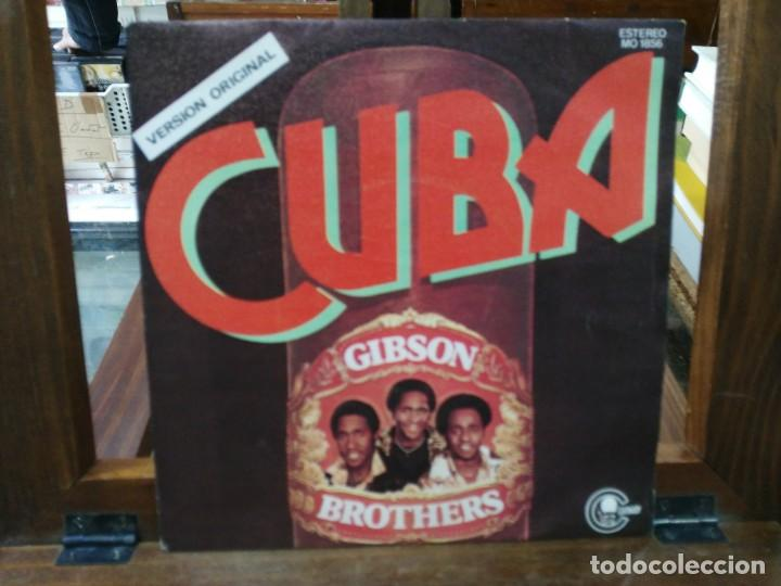 GIBSON BROTHERS - CUBA - SINGLE DEL SELLO CARNABY 1978 (Música - Discos - Singles Vinilo - Jazz, Jazz-Rock, Blues y R&B)