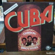 Discos de vinilo: GIBSON BROTHERS - CUBA - SINGLE DEL SELLO CARNABY 1978. Lote 147440374
