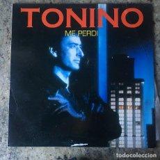 Discos de vinilo: TONINO - ME PERDI . LP . 1992 TON MUSIC. Lote 147440690
