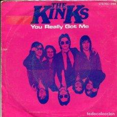 Discos de vinilo: THE KINKS / YOU REALLY GOT ME / STOP YOUR SOBBING (SINGLE PROMO ESPAÑOL 1980). Lote 147441798