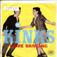 Discos de vinilo: THE KINKS / COME DANCING / NOISE (SINGLE 1982). Lote 147442362