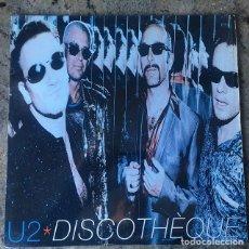 Discos de vinilo: U2 - DISCOTHEQUE . MAXI SINGLE . 1997 CANADA . Lote 147447182