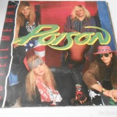 Discos de vinilo: POISON, SG, SO TELL ME WHY + 1, AÑO 1991 MADE IN GERMANY. Lote 147447790
