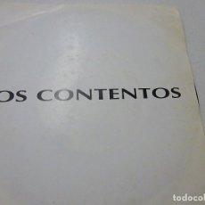 Discos de vinilo: LOS CONTENTOS-EL SECRETO DE MAMA -CUANDO RIES-SINGLE-PROMOCIONAL-N. Lote 147449566