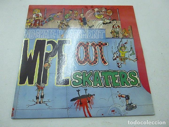 WIPE OUT SKATERS EP SUBTERFUGE 1991 NO SKATE HARASSMENT FEEL THE SPEED +3 PUNK HARDCORE-N (Música - Discos de Vinilo - EPs - Grupos Españoles de los 90 a la actualidad)