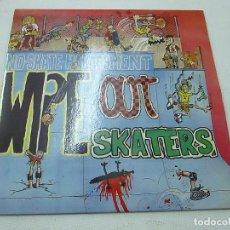 Discos de vinilo: WIPE OUT SKATERS EP SUBTERFUGE 1991 NO SKATE HARASSMENT FEEL THE SPEED +3 PUNK HARDCORE-N. Lote 147450982