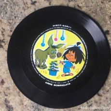Discos de vinilo: LA FAMILIA TELERÍN - ARRE BORRIQUITA . SINGLE . FLEXI DISC . 1965 DISCO BABY . Lote 147451338