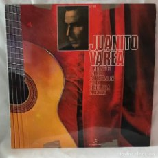 Discos de vinilo: JUANITO VAREA. FANDANGOS, ZAMBRA, CARTAGENERA, SOLEA. COLUMBIA.. Lote 147454650