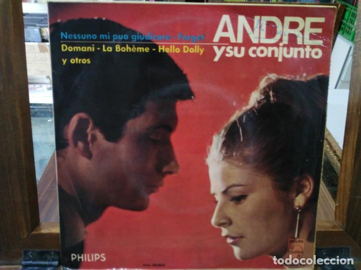 ANDRE Y SU CONJUNTO - LA BOHÈME, AMAMÉ, ... - EP. DEL SELLO PHILIPS 1966 (Música - Discos de Vinilo - EPs - Canción Francesa e Italiana)