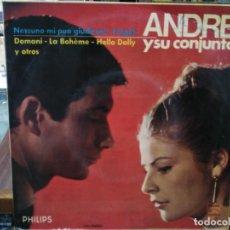 Discos de vinilo: ANDRE Y SU CONJUNTO - LA BOHÈME, AMAMÉ, ... - EP. DEL SELLO PHILIPS 1966. Lote 147454894