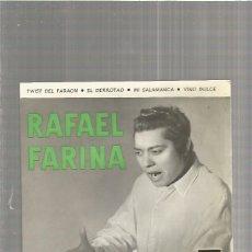 Discos de vinilo: RAFAEL FARINA TWIST DEL FARAON. Lote 147458318