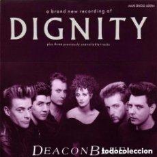 Discos de vinilo: DEACON BLUE - DIGNITY - MAXI-SINGLE SPAIN 1987. Lote 147459278