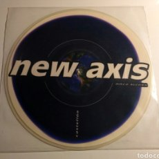 Discos de vinilo: HARDCORE PROJECT SOUND - NEW AXIS - NEW AXIS (PICTURE DISC). Lote 147460294