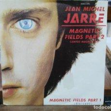 Discos de vinilo: JEAN MICHEL JARRE - MAGNETIC FIELDS PART 1/2 - SINGLE DEL SELLO POLYDOR 1981. Lote 147462606