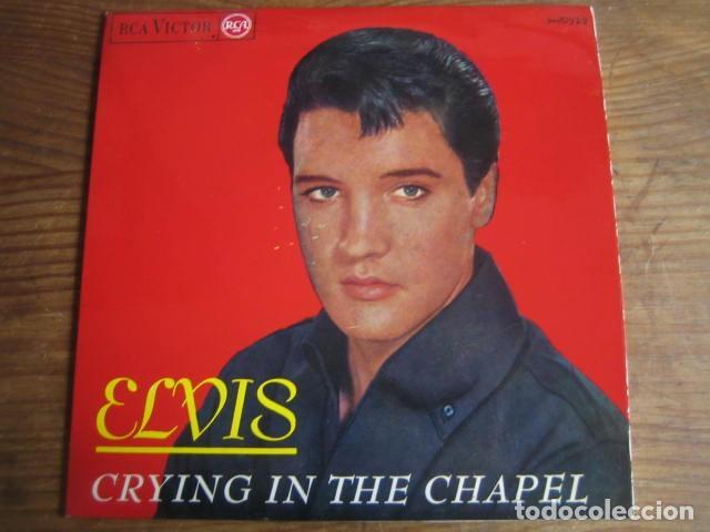 ELVIS PRESLEY - CRYING IN THE CHAPEL + 3 ********* RARO EP ESPAÑOL 1965 IMPECABLE (Música - Discos de Vinilo - EPs - Rock & Roll)