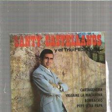 Discos de vinilo: SANTY CASTELLANOS CARTAGENERA. Lote 147465558