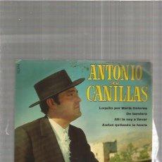 Discos de vinilo: ANTONIO CANILLAS LOQUITO. Lote 147466182