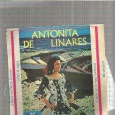 Discos de vinilo: ANTOÑITA DE LINARES JUNTO AL AGUA . Lote 147467242