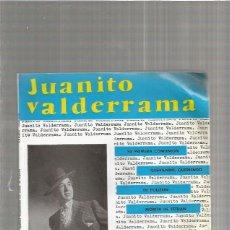 Discos de vinilo: JUANITO VALDERRAMA SU PRIMERA COMUNION. Lote 147467590